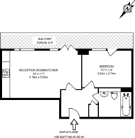 Large floorplan for Callisto Court, Canning Town, E16