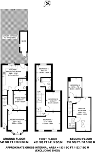 Large floorplan for Wragby Road, Leytonstone, E11