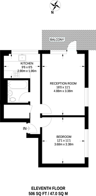Large floorplan for Newton Street, Covent Garden, WC2B