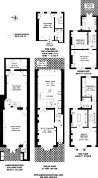 Large floorplan for Anhalt Road, Battersea Park, SW11