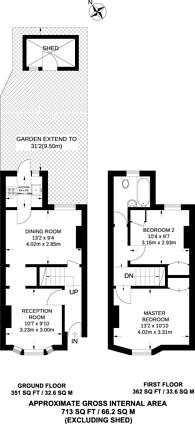 Large floorplan for NORBURY, Norbury, SW16