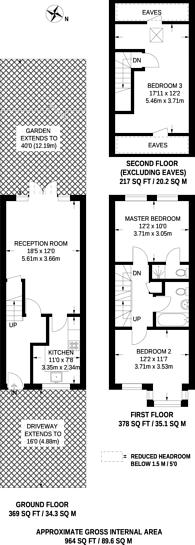 Large floorplan for Rural Way, Streatham, SW16