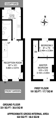 Large floorplan for Wharton Road, Bromley, BR1