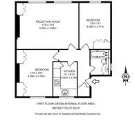 Large floorplan for High Street, Acton, W3