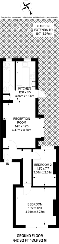 Large floorplan for Gilbey Road, Tooting, SW17