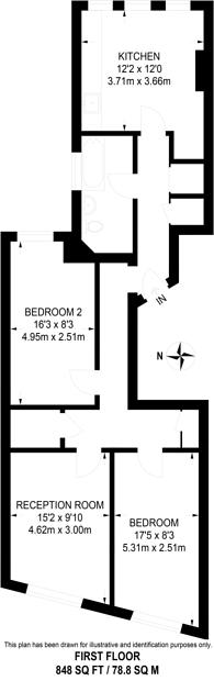 Large floorplan for Streatham Hill, Streatham Hill, SW2