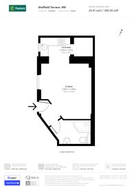 Large floorplan for Sheffield Terrace, Kensington, W8