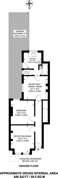 Large floorplan for Lawrence Road, South Ealing, W5