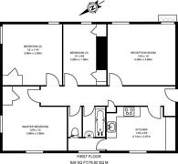 Large floorplan for Well Walk, Hampstead, NW3