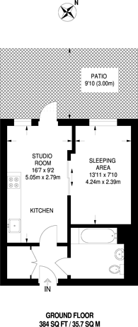 Large floorplan for Shearwater Drive, Hendon, NW9
