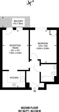 Large floorplan for Fairthorn Road, Charlton, SE7