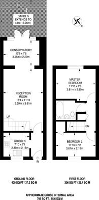 Large floorplan for Windrush, New Malden, KT3