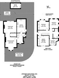 Large floorplan for Traps Lane, New Malden, KT3