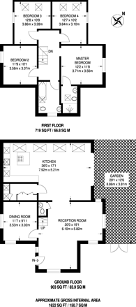 Large floorplan for Ardmere Road, Hither Green, SE13