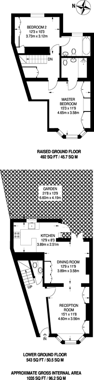 Large floorplan for Flood Street, Chelsea, SW3