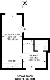 Large floorplan for Dalston Lane, Hackney, E8