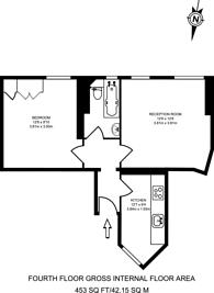 Large floorplan for Gilbert Street, Mayfair, W1K