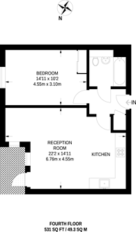 Large floorplan for Capitol Way, Colindale, NW9