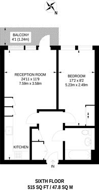 Large floorplan for Enterprise Way, Wandsworth, SW18