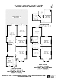 Large floorplan for The Vale, Golders Green, NW11