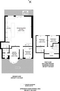 Large floorplan for Beresford Avenue, Brunswick Park, N20