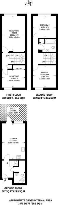 Large floorplan for Kingsland Road, Hoxton, E2