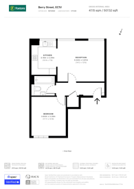 Large floorplan for Berry Street, Clerkenwell, EC1V