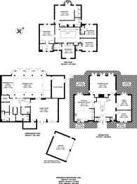 Large floorplan for Coombe Hill Road, Coombe, KT2