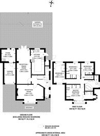 Large floorplan for Mount Pleasant, South Ruislip, HA4