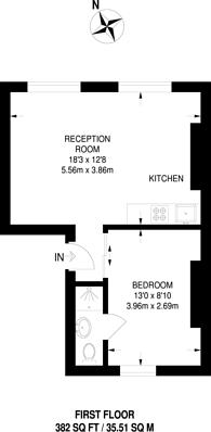 Large floorplan for Erskine Road, Primrose Hill, NW3