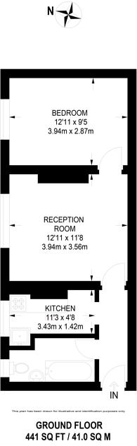 Large floorplan for Welwyn Street, Bethnal Green, E2