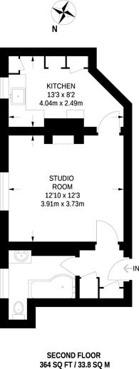 Large floorplan for Regency Street, Pimlico, SW1P