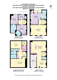 Large floorplan for Adams Row, Mayfair, W1K