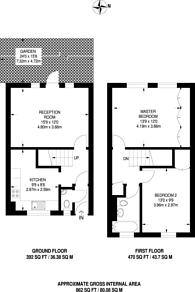 Large floorplan for Camden Street, Camden Town, NW1
