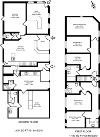 Large floorplan for Avery Hill Road, Eltham, SE9