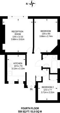 Large floorplan for Vauxhall Street, Vauxhall, Vauxhall, SE11