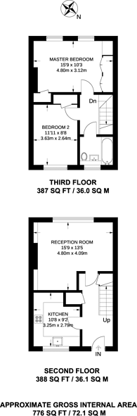 Large floorplan for Maitland Close, Greenwich, SE10