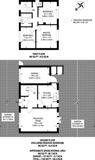 Large floorplan for Woodlea Drive, Bromley, BR2