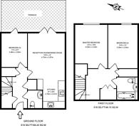 Large floorplan for Furze Street, Bow, E3