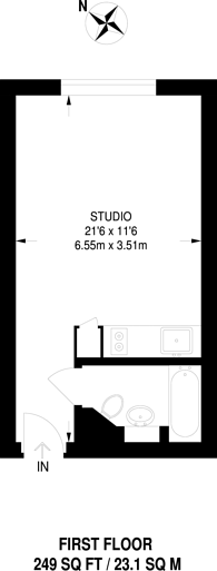 Large floorplan for Bromyard House, East Acton, W3