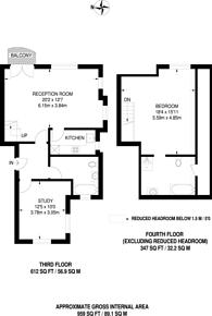Large floorplan for Charlotte House, Royal Docks, E16