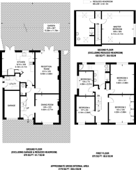 Large floorplan for Spring Court Road, The Ridgeway, EN2