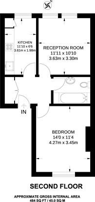 Large floorplan for Balham High Road, Balham, SW12