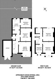 Large floorplan for Egerton Road, South Norwood, SE25