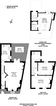 Large floorplan for Horder Road, Munster Village, SW6