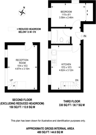 Large floorplan for Anerley Park, Anerley, SE20