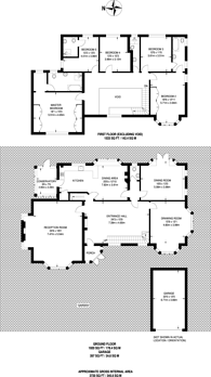 Large floorplan for Woodmansterne Road, Carshalton Beeches, SM5