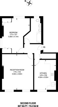 Large floorplan for Sydenham Hill, Sydenham Hill, SE26