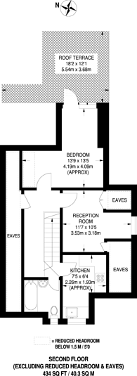 Large floorplan for London Lane, Bromley, BR1
