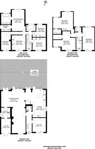 Large floorplan for Claremont Road, Hadley Wood, EN4